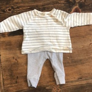 Unisex Zara outfit gray